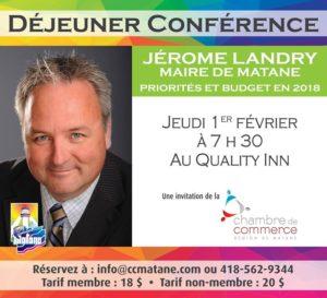 Déjeuner-politique @ Quality Inn et Suites de Matane | Matane | Québec | Canada