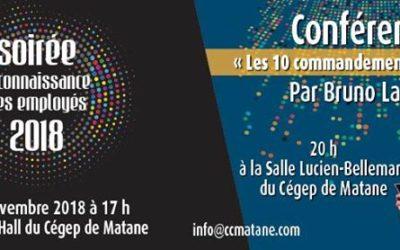 La chambre de commerce – Région de Matane updated their cover photo.