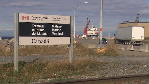 Ottawa à la rescousse du port de Matane