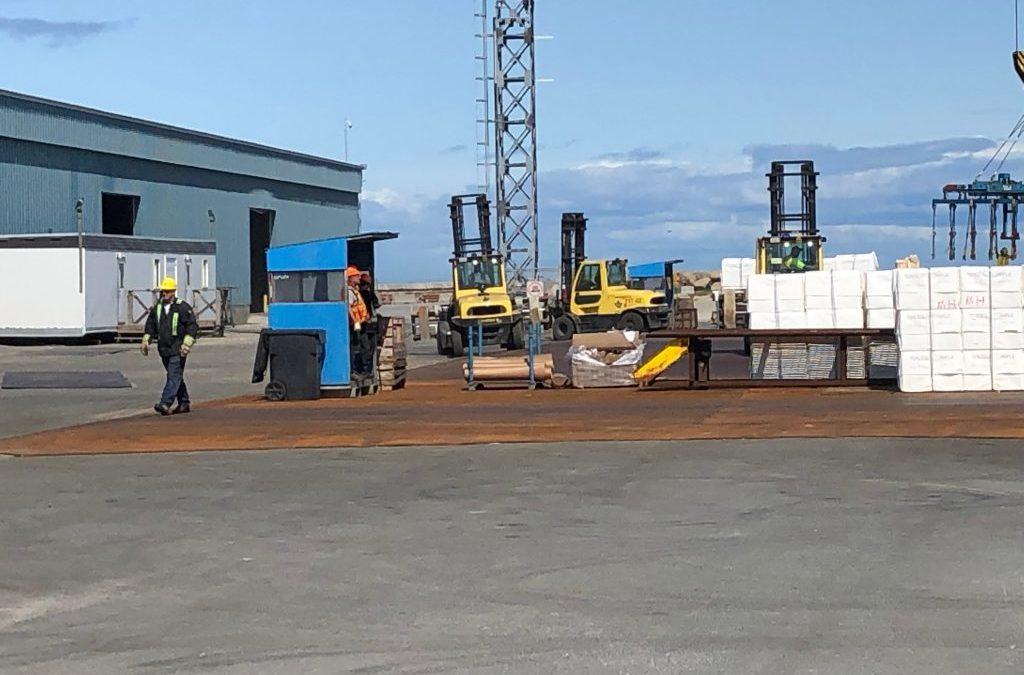 CEG Construction a relevé un défi colossal au port de Matane