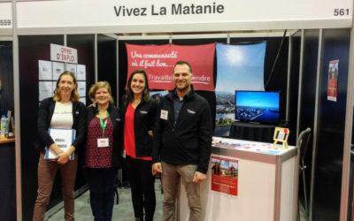Foire nationale de l'emploi de Montréal, Matane sera présent pour une seconde fois