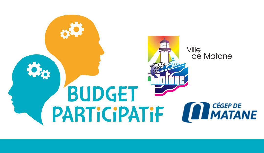Vote du public | Budget Participatif | Ville de Matane