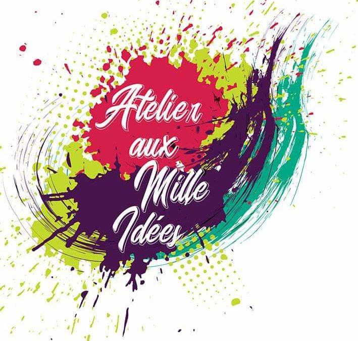 Bienvenue à notre nouveau membre Atelier aux mille idées, atelier et boutique de…