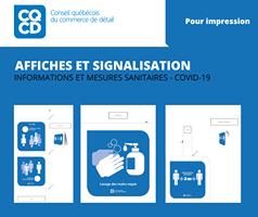 Le Conseil québécois du commerce de détail (CQCD) a développé des modèles d'affi…
