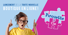 Pirouette & Cie lance sa toute nouvelle boutique en ligne, un bel outil pour…