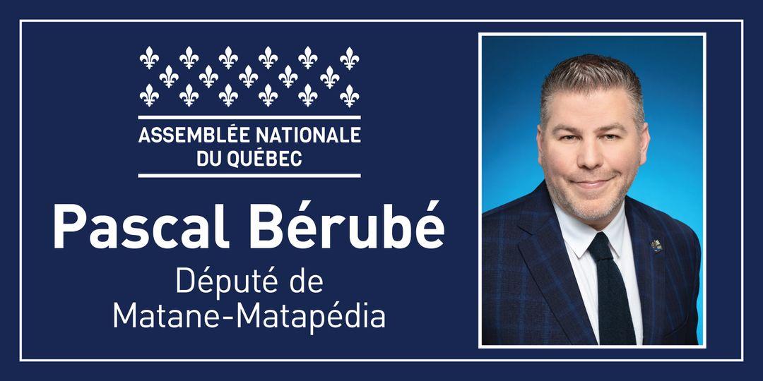 La CCRM tient à remercier monsieur Pascal Bérubé, Député de Matane-Matapédia pou…
