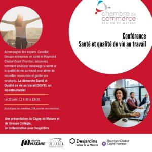 Conférence Santé et qualité de vie au travail